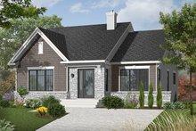 Craftsman Exterior - Front Elevation Plan #23-2414