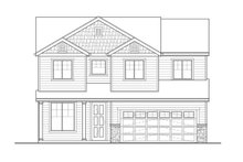 Country Exterior - Front Elevation Plan #569-34