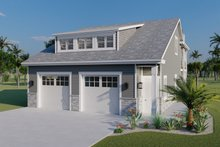 Dream House Plan - Traditional Exterior - Front Elevation Plan #1060-76