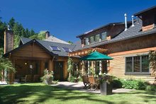 Dream House Plan - Craftsman Exterior - Rear Elevation Plan #48-364