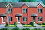 Traditional Style House Plan - 2 Beds 1.5 Baths 2970 Sq/Ft Plan #25-330 Exterior - Front Elevation