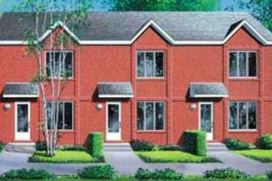 Traditional Exterior - Front Elevation Plan #25-330