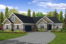 Dream House Plan - Traditional Exterior - Front Elevation Plan #124-378
