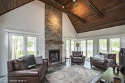 Craftsman Style House Plan - 3 Beds 2.5 Baths 2528 Sq/Ft Plan #929-962 Interior - Family Room