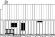 Country Style House Plan - 1 Beds 1.5 Baths 904 Sq/Ft Plan #21-465
