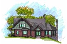 Dream House Plan - Craftsman Exterior - Front Elevation Plan #70-970