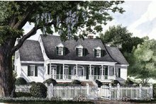 Home Plan - Country Exterior - Front Elevation Plan #137-143