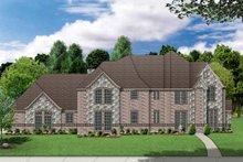 Home Plan - European Exterior - Front Elevation Plan #84-429