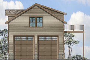 Traditional Exterior - Front Elevation Plan #124-959
