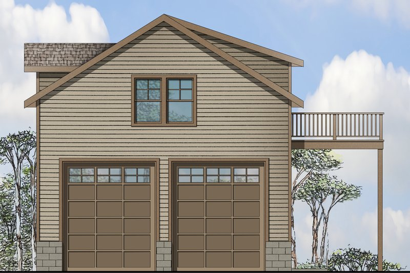 Home Plan - Traditional Exterior - Front Elevation Plan #124-959