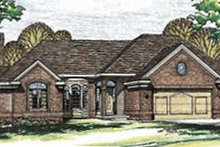 Traditional Exterior - Front Elevation Plan #20-735