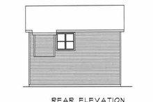 House Plan Design - Traditional Exterior - Rear Elevation Plan #22-401
