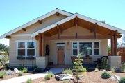 Craftsman Style House Plan - 3 Beds 2 Baths 1592 Sq/Ft Plan #895-34