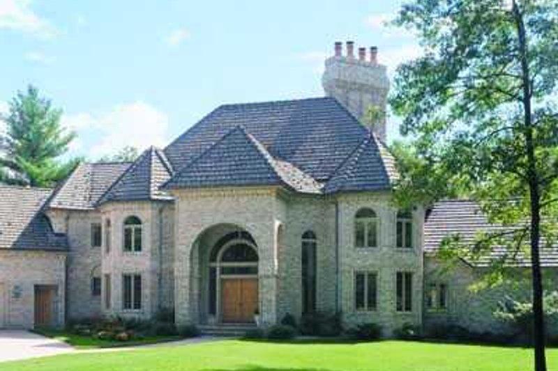 House Plan Design - European Exterior - Front Elevation Plan #72-197