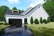 Traditional Style House Plan - 4 Beds 2.5 Baths 1967 Sq/Ft Plan #923-150 Exterior - Other Elevation