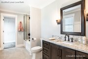 European Style House Plan - 5 Beds 5 Baths 4357 Sq/Ft Plan #929-893 Interior - Bathroom