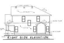 Dream House Plan - Traditional Exterior - Front Elevation Plan #20-1775