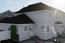 Craftsman Exterior - Rear Elevation Plan #1060-65