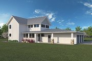 Farmhouse Style House Plan - 3 Beds 2.5 Baths 1917 Sq/Ft Plan #1068-1 Exterior - Rear Elevation