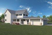 Farmhouse Style House Plan - 3 Beds 2.5 Baths 1917 Sq/Ft Plan #1068-1 Exterior - Rear Elevation
