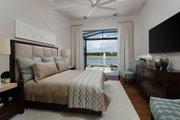 Mediterranean Style House Plan - 4 Beds 4.5 Baths 3682 Sq/Ft Plan #930-481 Interior - Master Bedroom