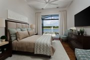 Mediterranean Style House Plan - 4 Beds 4.5 Baths 3682 Sq/Ft Plan #930-481