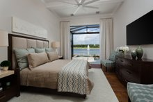 Architectural House Design - Mediterranean Interior - Master Bedroom Plan #930-481