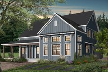 Architectural House Design - Farmhouse Exterior - Rear Elevation Plan #23-2690
