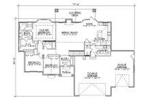 Traditional Floor Plan - Main Floor Plan Plan #5-254
