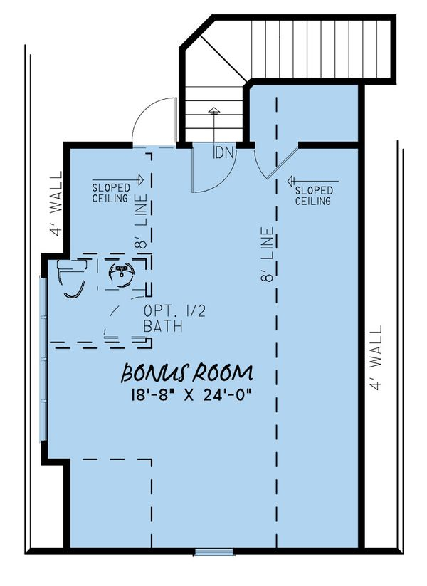 Craftsman Floor Plan - Upper Floor Plan Plan #923-159