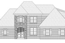 Country Exterior - Front Elevation Plan #932-277