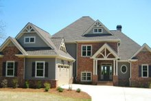 Dream House Plan - Traditional Exterior - Front Elevation Plan #437-54