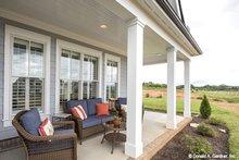 House Plan Design - European Exterior - Covered Porch Plan #929-859
