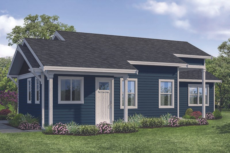 Home Plan - Traditional Exterior - Other Elevation Plan #124-1114
