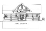 Bungalow Style House Plan - 3 Beds 2.5 Baths 3278 Sq/Ft Plan #117-542 Exterior - Other Elevation