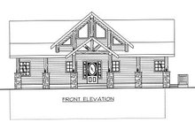 Home Plan - Bungalow Exterior - Other Elevation Plan #117-542
