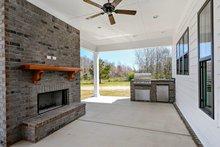 Farmhouse Exterior - Outdoor Living Plan #63-430