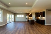 Ranch Style House Plan - 4 Beds 3 Baths 1703 Sq/Ft Plan #70-1500 Interior - Dining Room