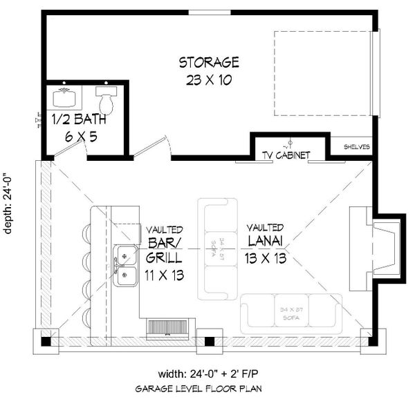 Country Floor Plan - Main Floor Plan Plan #932-236