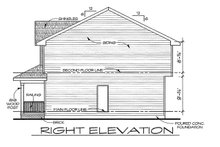 Traditional Exterior - Front Elevation Plan #20-2105