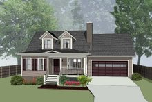 House Plan Design - Country Exterior - Front Elevation Plan #79-157