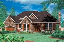 Home Plan - European Exterior - Front Elevation Plan #48-427