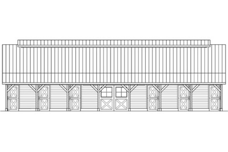 Country Exterior - Other Elevation Plan #124-798 - Houseplans.com