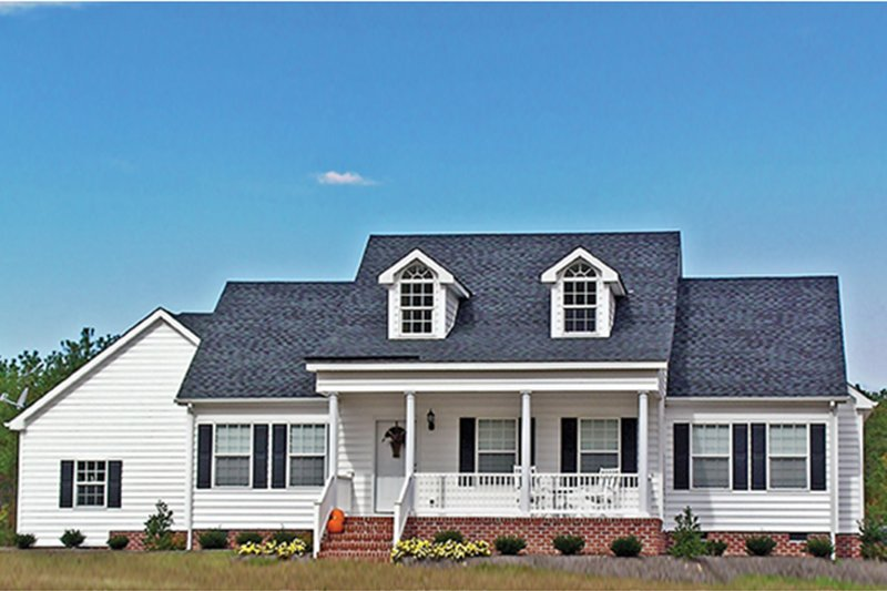 Home Plan - Country Exterior - Front Elevation Plan #314-164