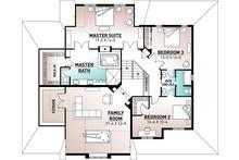 Country Floor Plan - Upper Floor Plan Plan #23-406