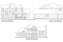 House Plan Design - Country Exterior - Other Elevation Plan #80-125