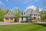 European Style House Plan - 5 Beds 3.5 Baths 4427 Sq/Ft Plan #901-59 Exterior - Front Elevation
