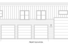 Architectural House Design - Contemporary Exterior - Front Elevation Plan #932-307