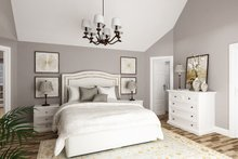 Dream House Plan - Craftsman Interior - Master Bedroom Plan #45-587