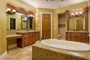 Mediterranean Style House Plan - 4 Beds 3.5 Baths 4923 Sq/Ft Plan #135-166 Interior - Master Bathroom